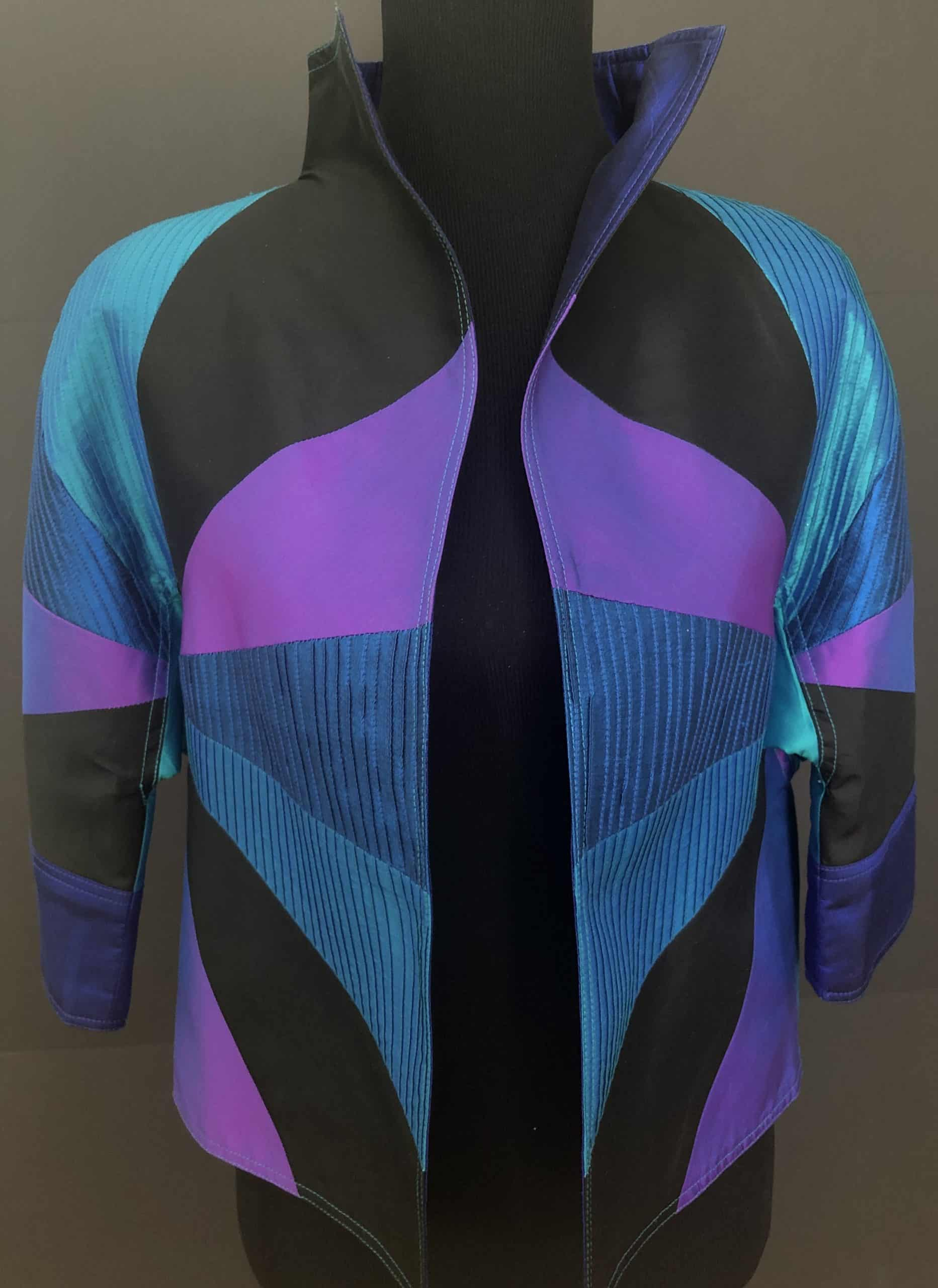 Thai Silk Short Jacket, by Cashmere and Pearls
