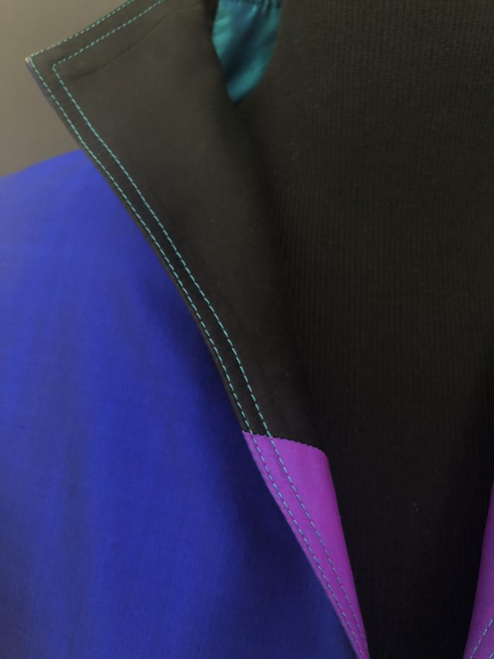 Pure Thai Silk Bolero jacket, by Cashmere and Pearls #cashmereandpearls