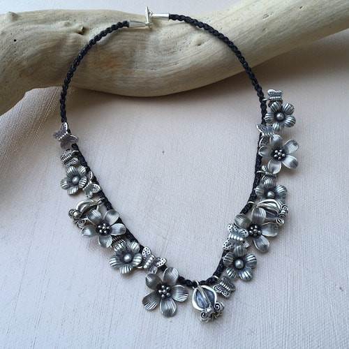 Karen Hill Tribe Silver Necklace