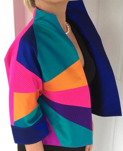 Thai Silk Short Jacket
