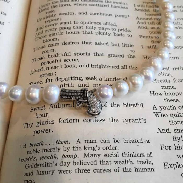 Derringer Clasp Pearls