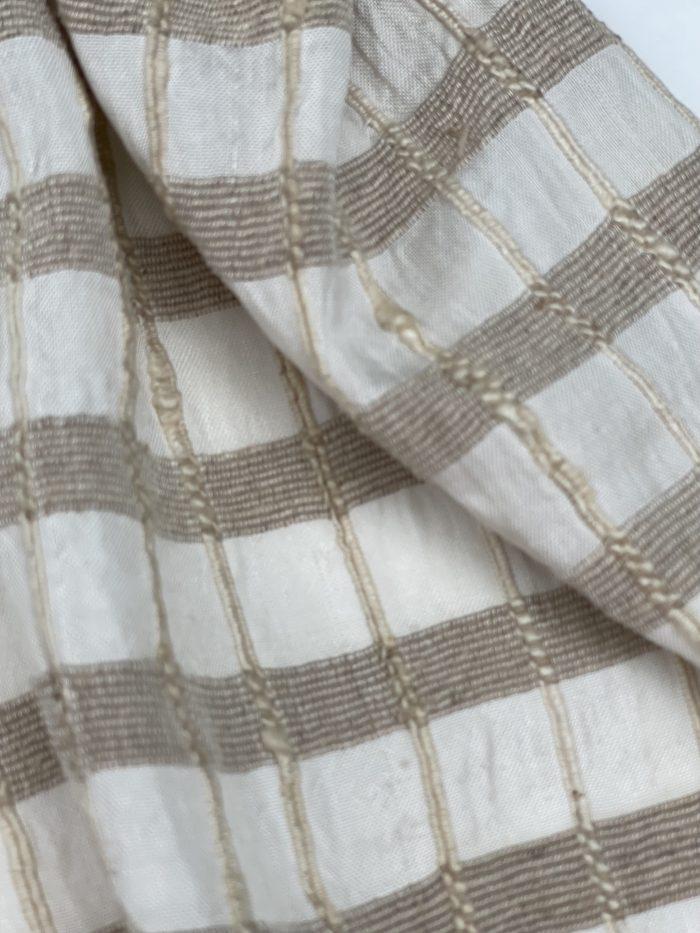 Lotus fiber and Silk