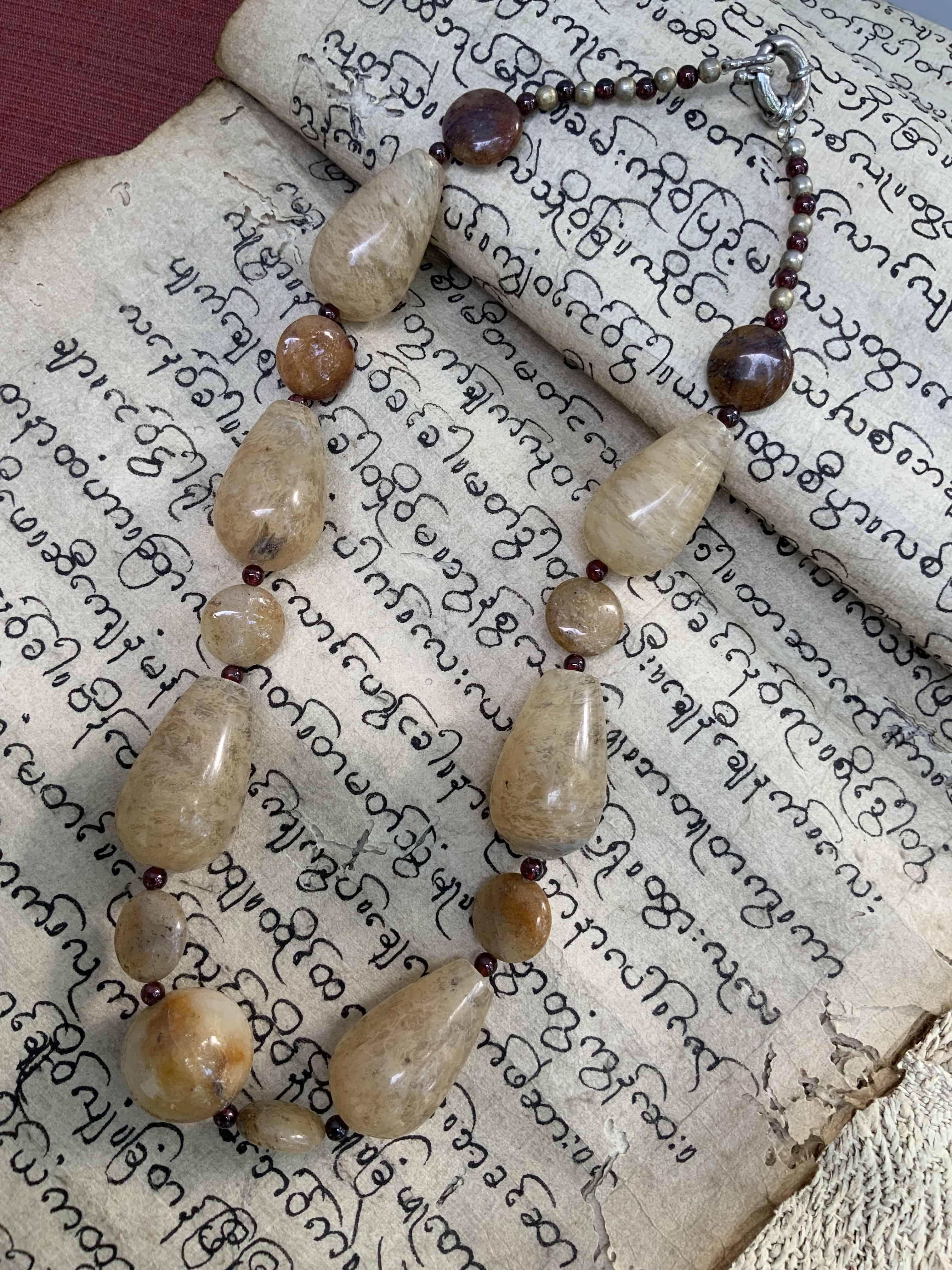 Myanmar Crystal Necklace