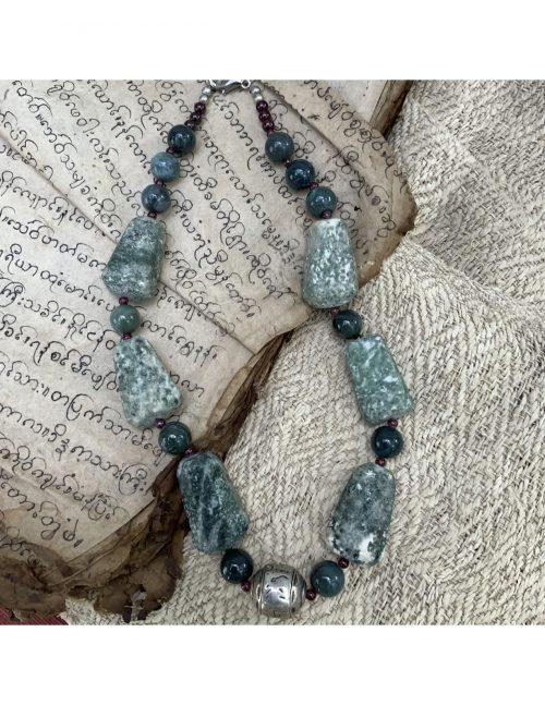 Jade Stone Necklace