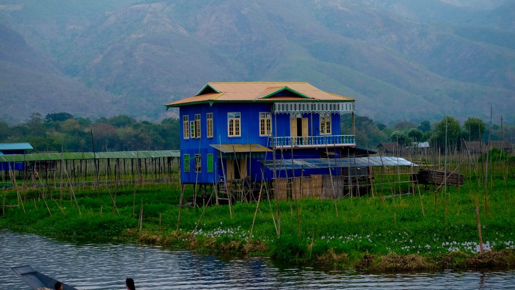 Inle Lake floating village