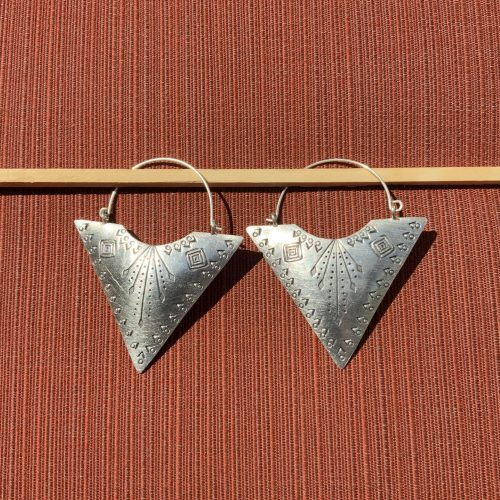 Hill Tribe Silver earrings