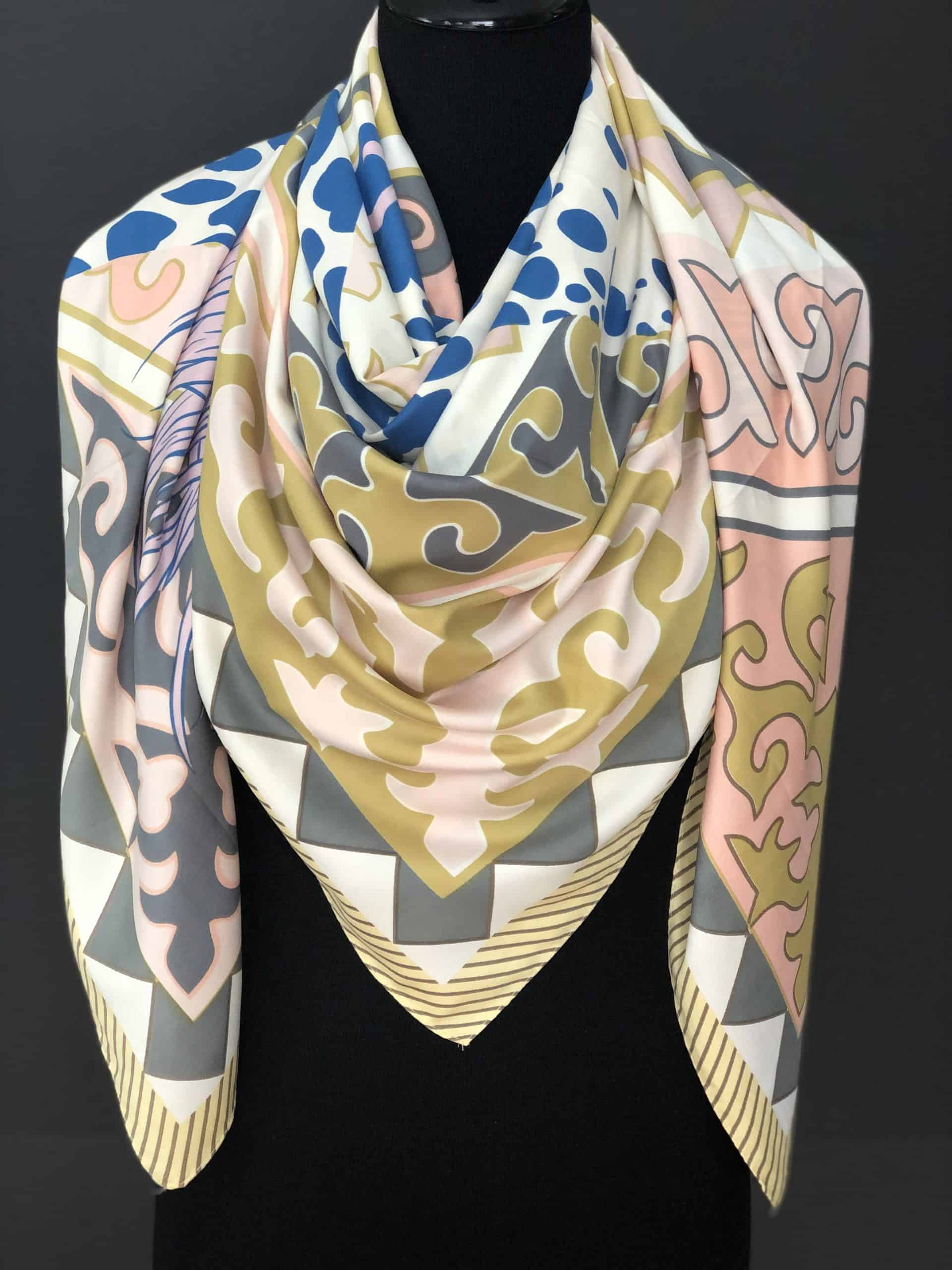 100% Thai Silk Scarf, by Cashmere and Pearls