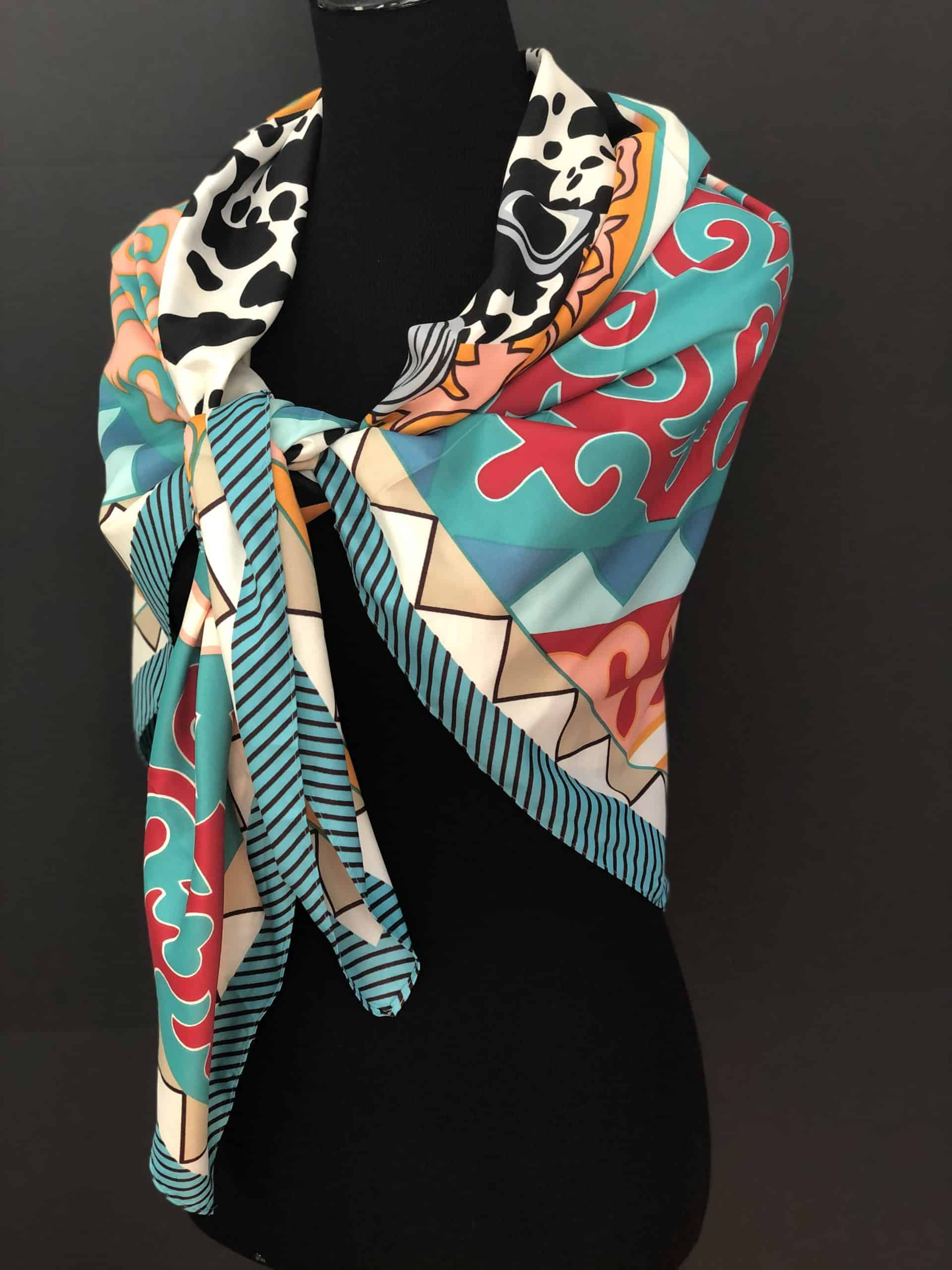 Royal Temptation Scarf, by Cashmere and Pearls
