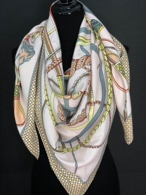 Horse Racing Scarf, by Cashmere and Pearls