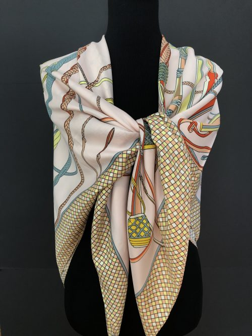 Horse racing scarf