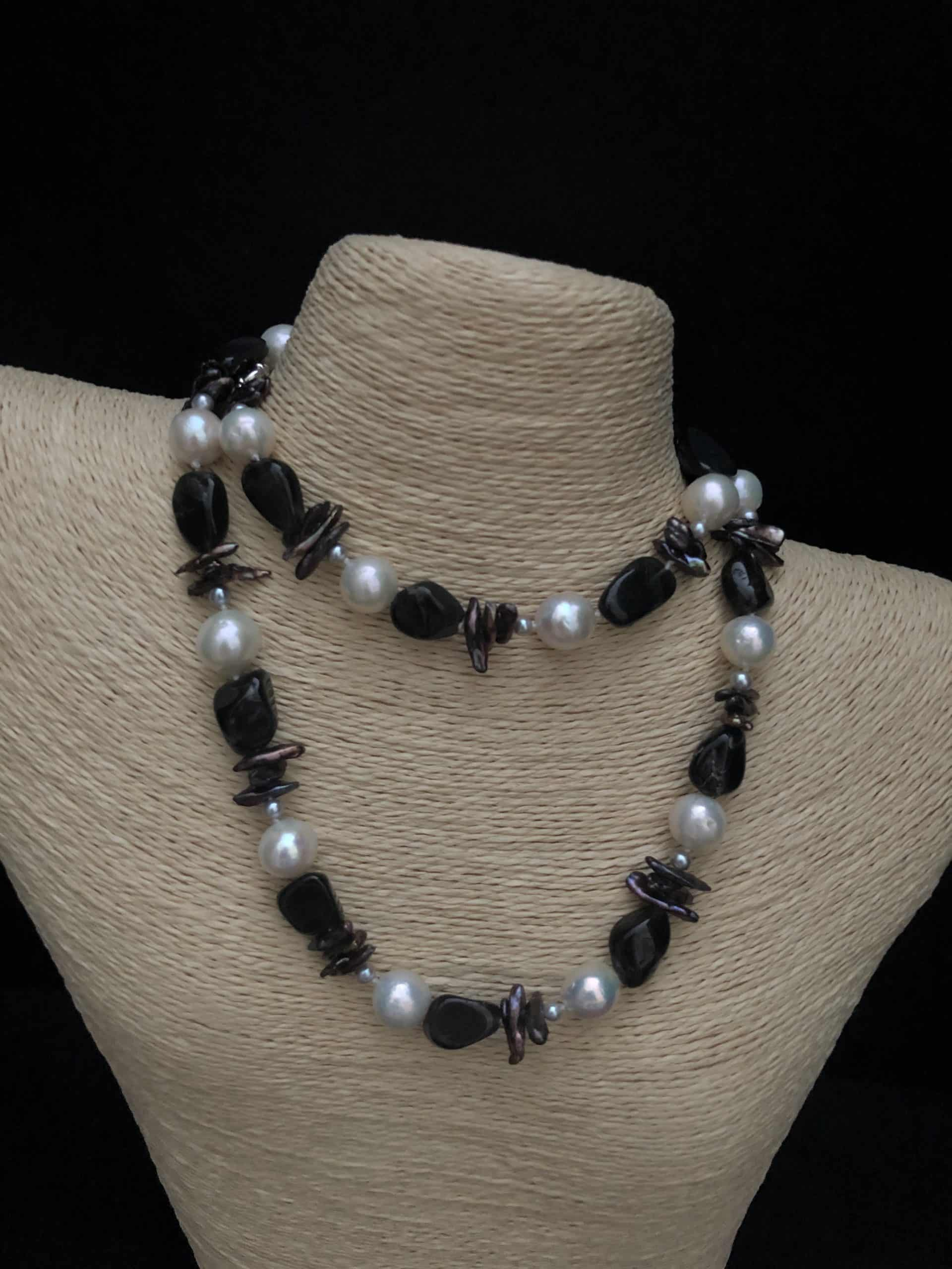 Moonstones and Pearls, by Cashmere and Pearls