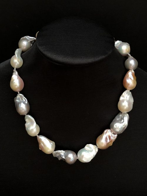 Baroque Pearl Necklace, by Cashmere and Pearls