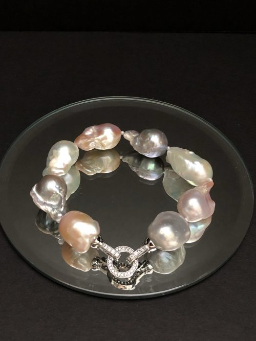 Baroque Pearl Bracelet, by Cashmere and Pearls