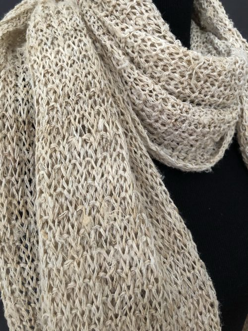 Hemp Scarf, by Cashmere and Pearls