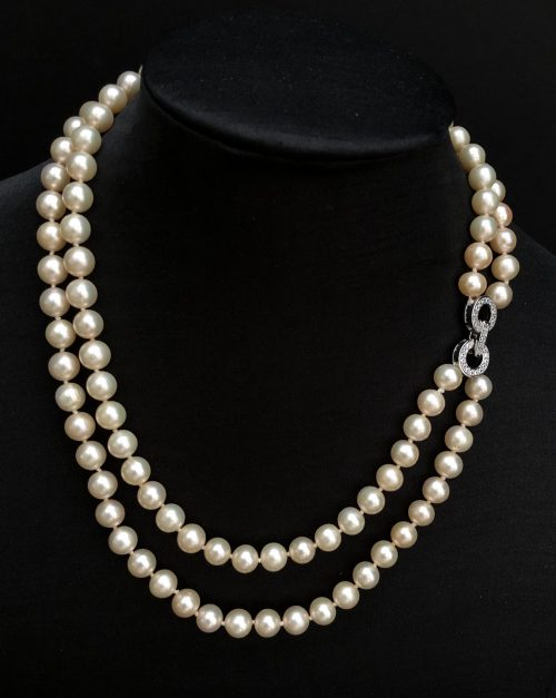 Freshwater Pearl Necklace, by Cashmere and Pearls