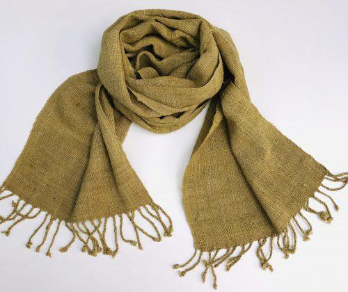 Lotus fiber scarf