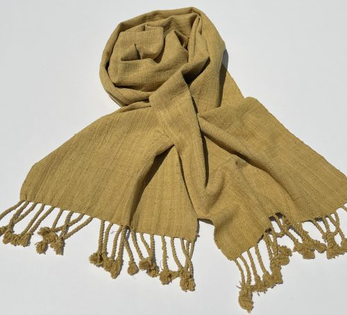 Lotus thread scarf