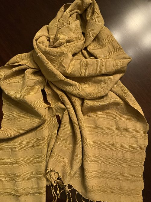 Pure Lotus Fiber and Silk, Handwoven. What is the most exotic fabric?