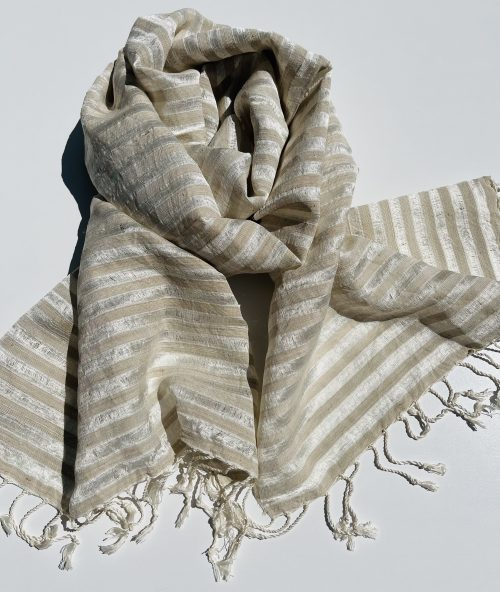 Pure Lotus and Silk Scarf